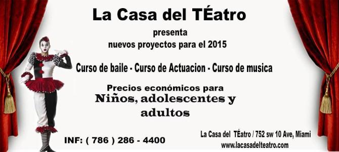 Clases de Teatro, Música y danza / niños y adultos